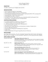 Emt Basic Resume Fiveoutsiders Com