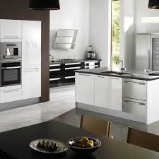 Kitchen  Colors With White Cabinets And Black Appliances - Contemporary kitchen colors