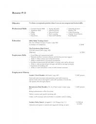 template example examples of resumes for cashiers awesome various