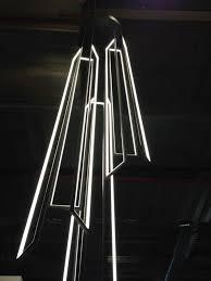 cascade de miré by cinier radiateurs contemporains led pendant lamp cinierfrance