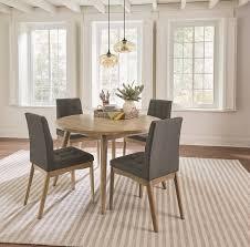 mid century modern oak dining table barcelona