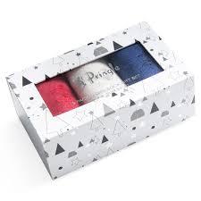 pringle 2 x 3 pack women s socks gift box orted