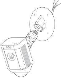 spotlight cam mount installation ring