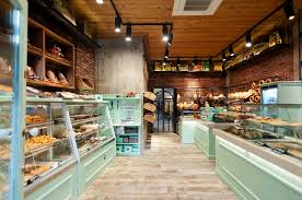 Constantinos Bikas interior designer - Kogia bakery by Konstantinos Bikas,  via