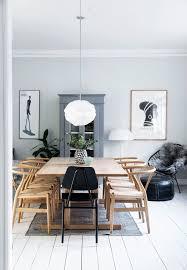 børge mogensen bord omkranset af wegners y stole luxury dining room dining room