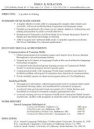 Job Resume Objective Examples Free Resume Templates. 9 ...