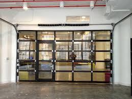 glass garage door residential garage