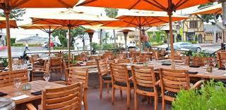 outdoor dining in laa beach visit