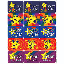 Star Student Chart Stars Success Stickers By Eureka Eu658100