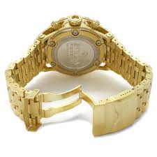 invicta subaqua chronograph blue dial gold tone mens watch 1567 invicta subaqua chronograph blue dial gold tone mens watch 1567