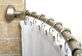 curved tension shower curtain rod curved shower curtain rod enchanting stainless steel rod for white smart
