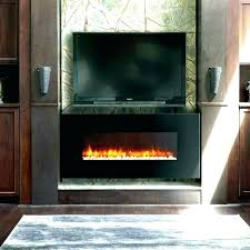 wall mounted fireplace awesome gas ventless duluth forge vent free linear maximum ethanol with glass barrier