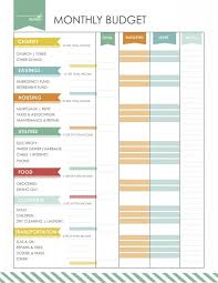 Likesoy » Free Monthly Budget Template| Budget Worksheet | Get Form ...