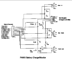 overview of pam power system pamiii battery charge monitor board layout