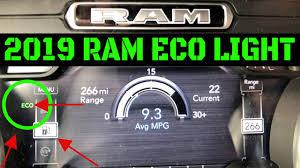 2017 Ram 1500 Eco Light How To Enable Disable 2019 Ram Eco Light