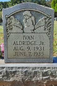 Ivan Aldridge (1931-1935) - Find A Grave Memorial