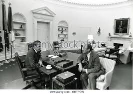 nixon oval office. president richard m nixon speaks with gerald r ford in the oval office on s