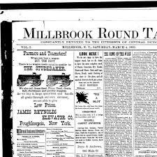 millbrook round table millbrook n y 1892 190 march 04 1893 page 1 image 1 nys historic newspapers