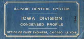 Prr Track Charts Ic 1944 Track Charts Iowa Div Multimodalways