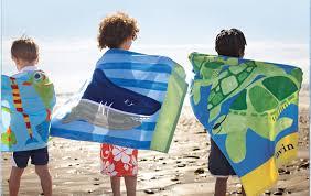 Kids Beach Towels Kids Beach Towels W Nongzico