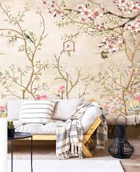 Wallpaper,Sakura,Vintage Floral,Rose ...