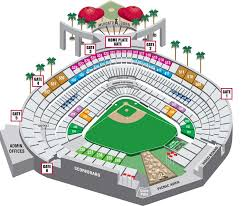 Angel Tickets Seating Chart Mini Plans Seating Map Los Angeles Angels