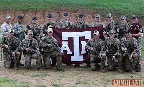 Texas A M Corps Of Cadets Texas A M Corps Of Cadets Marksmanship Unit Sweeps The Military