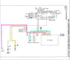89 4runner a c amplifier electrical issues yotatech forums below is the wiring diagram the 5 6 7 wires traced to their origins