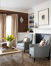 Casual Transitional Living Room