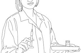 Nurse Coloring Page For Kids Pages Halloween Disney Cars Girls Male