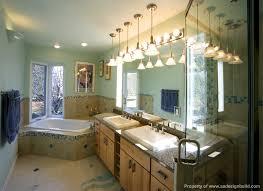 custom bathroom lighting. Plain Custom Popular Of Master Bathroom Lighting Brilliant Elegant  With Custom Cabinetry Intended O