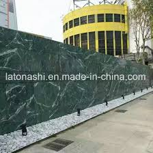 polished indian jungle green marble for exterior interior wall and floor