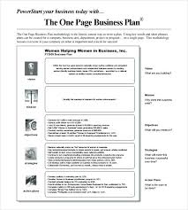 Business Proposal Template Cool One Page Business Pitch Template One Page Business Pitch Example By