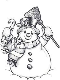 Small Picture 584 best Snowmen images on Pinterest Snow Adult coloring and