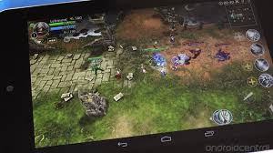 heroes of order and chaos brings lane defense to android android