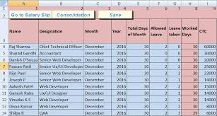 Salary Calculator In Excel Free Download Download Salary Sheet Excel Template Exceldatapro