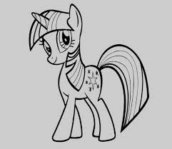 My Little Pony Coloring Pages Twilight Sparkle Coloring Pages Free