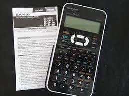 sharp calculator. image is loading sharp-el-531-scientific-calculator sharp calculator 5