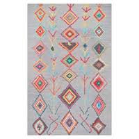 rug for kids. mjsm18d grey hand tufted belini area rug kids for
