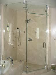 kohler frameless shower door bathroom doors at kits levity inside glass for