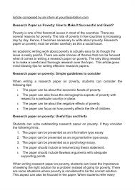 causes of poverty essay the causes of poverty essay