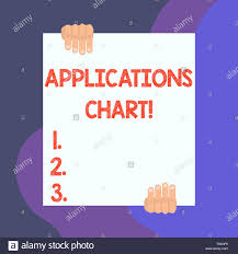 Two Hand Process Chart Handwriting Text Writing Applications Chart Conceptual