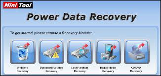 تحميل برنامج استعادة الملفات المحذوفة بعد الفورمات كامل مجانا عربي - تحميل برنامج MiniTool Power Data Recovery 7.5