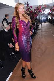 Paris Hilton Attend The Gabriela Cadena weise Show In New York ...