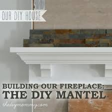 how to build a fireplace mantel shelf with crown molding diy plans