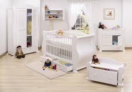 Decorations:Great White Furniture For Baby Room Ideas With White Wooden  Baby Crib And Corner