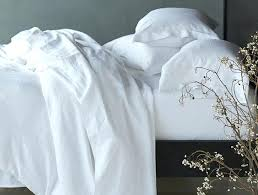 relaxed linen white duvet cover ikea
