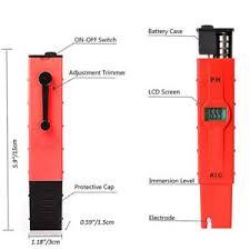 Ph Meter Calibration Digital Ph Meter Tester Measuring Pen Auto Calibration Water Pool