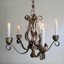 chandelier faux pillar candle large rustic with regard to for remodel 11
