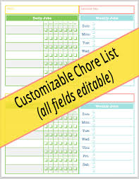 chore chart template for teenagers big huge list of kid chores grouped by age creatingmaryshome com
